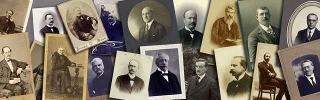 Portraits of physicians and scientists