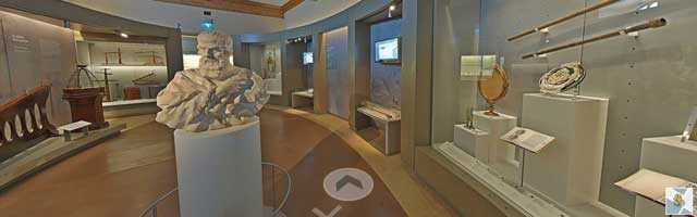 The Museo Galileo on Google Street View