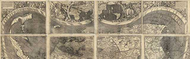 A Land Beyond The Stars. Amerigo Vespucci and Martin Waldseemüller's Map of the World