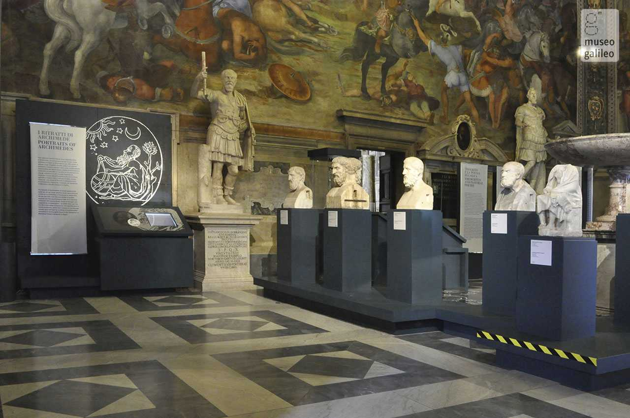 Archimedes. The Art and Science of Invention. Exhibition hall, Rome, Musei Capitolini