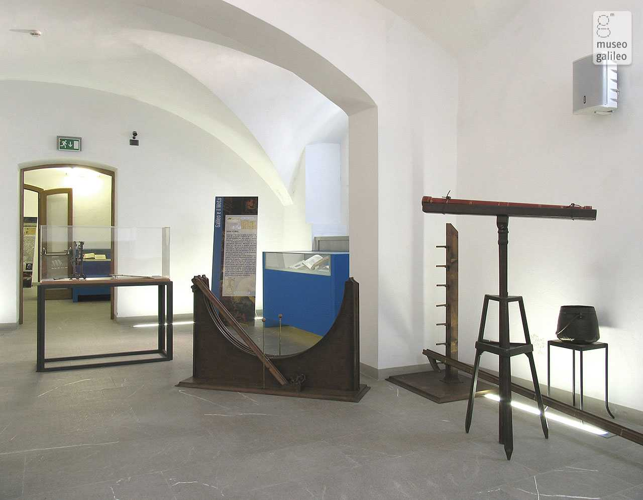 Relativity from Galileo to Einstein. Exhibition hall, Florence, Museo di Storia della Scienza