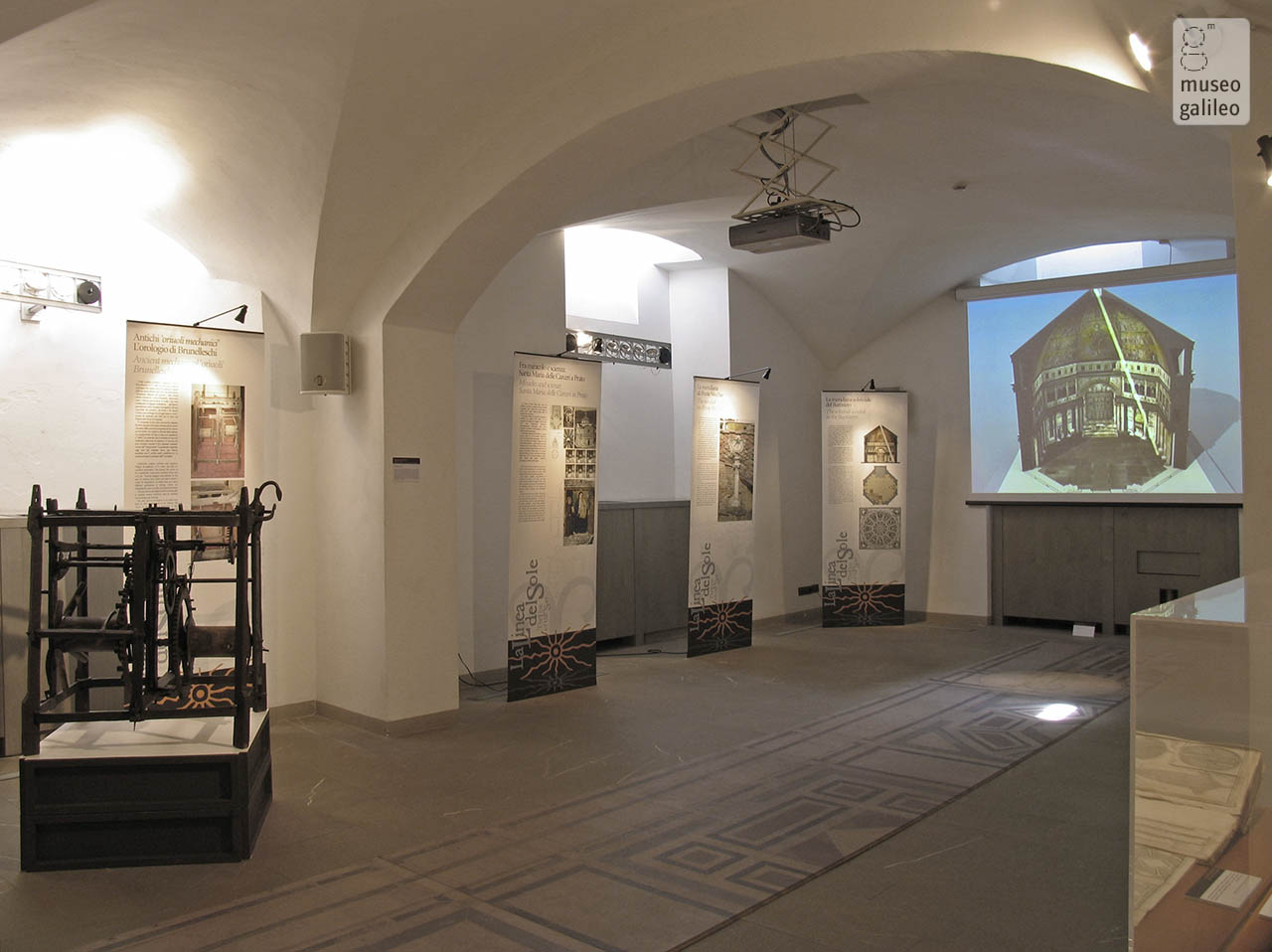 The Line of the Sun. Great sundials in Florence. Exhibition hall, Florence, Museo Galileo