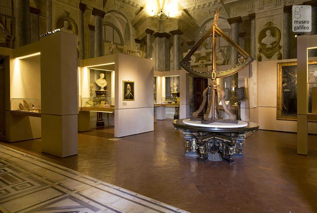 The Medici and Science: Instruments and Machines in the Grand-Ducal Collections. Exhibition hall dedicated to Ferdinando II de' Medici, Florence, Museo degli Argenti