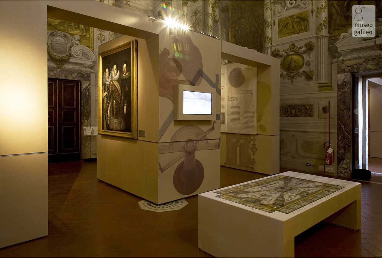 The Medici and Science: Instruments and Machines in the Grand-Ducal Collections. Exhibition hall dedicated to Cosimo II de' Medici, Florence, Museo degli Argenti