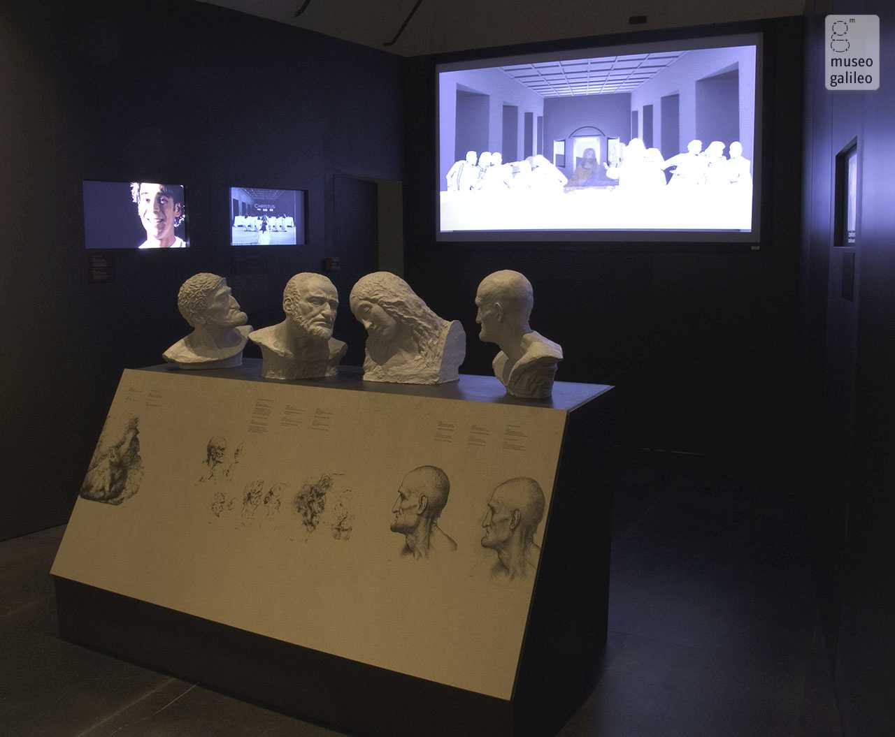 "The Mind of Leonardo: The Universal Genius at Work. Exhibition hall of section V, ""The Motion: the universal agent"", Florence, Galleria degli Uffizi"