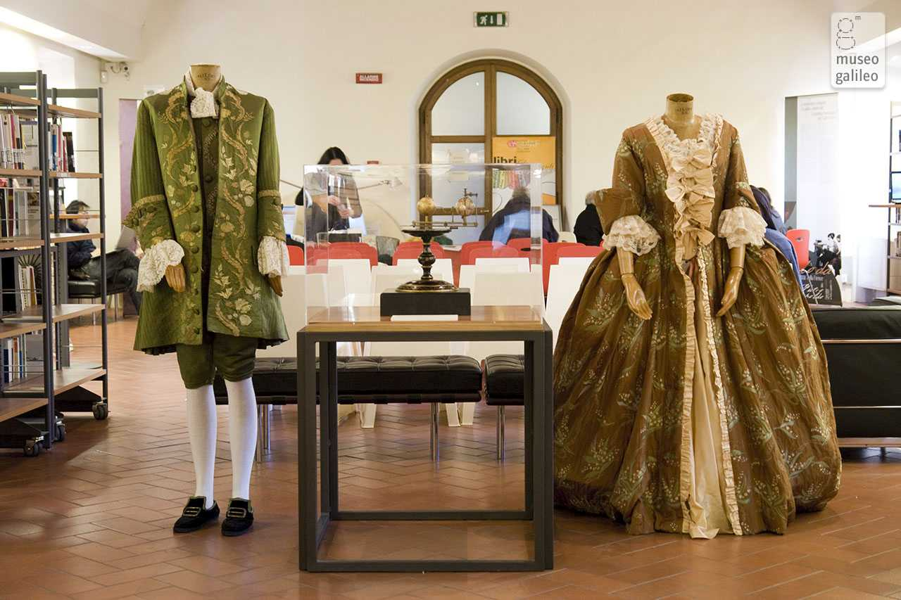Fashion and Science in Florence in the Age of Peter Leopold of Lorraine. Period costumes, Florence, Biblioteca delle Oblate
