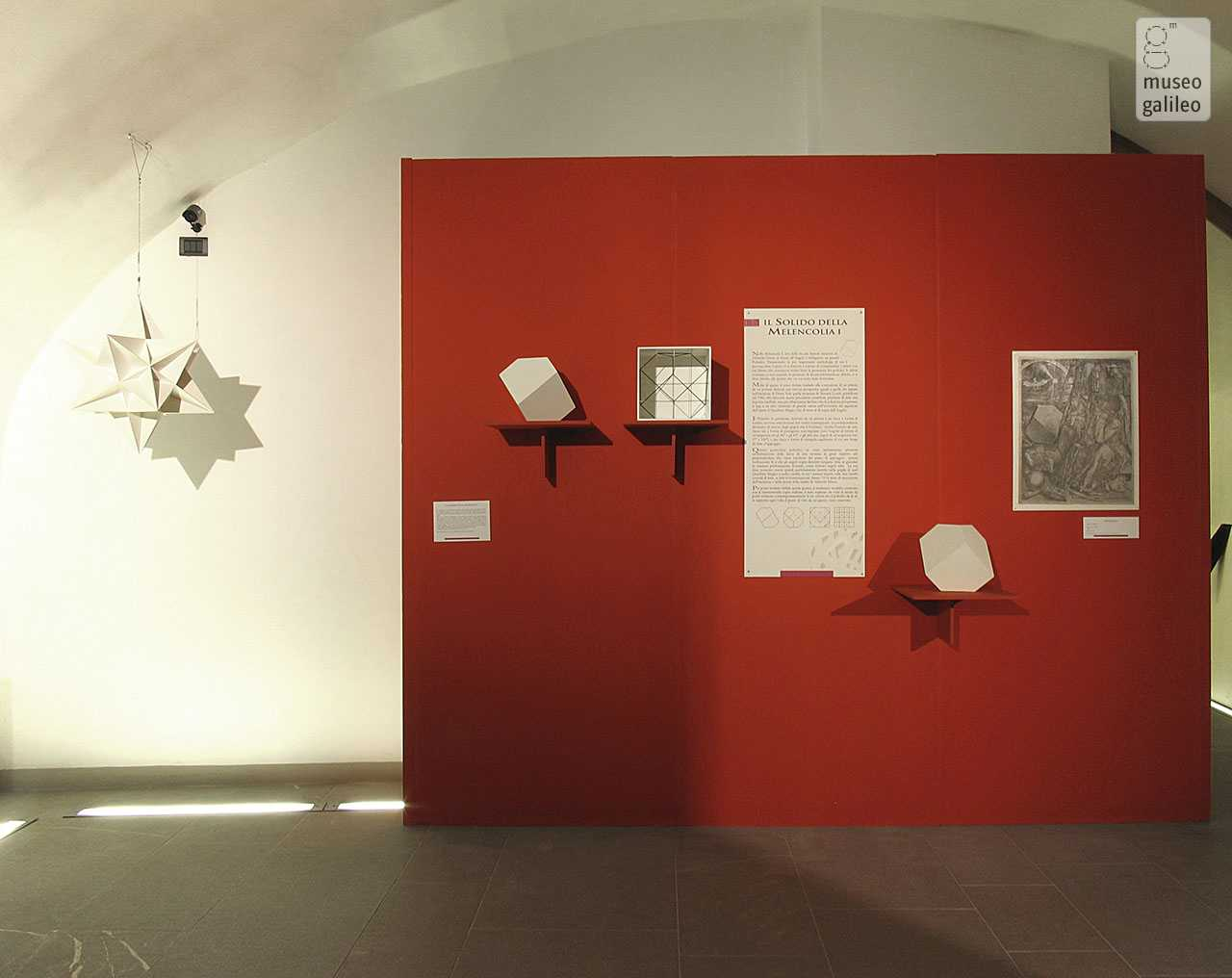 The Shapes of Numbers: A History of polyhedrons from Plato to Poinsot, passing through Luca Pacioli. Wall with polyhedra, Florence, Museo di Storia della Scienza