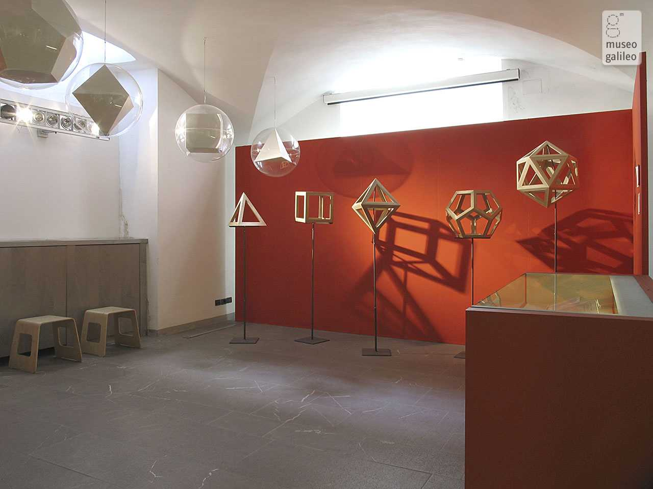The Shapes of Numbers: A History of polyhedrons from Plato to Poinsot, passing through Luca Pacioli. Exhibition hall, Florence, Museo di Storia della Scienza