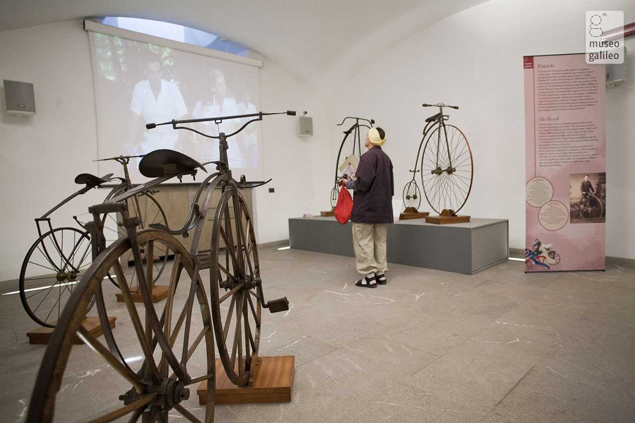 Cycling through the Past: Stories of Men and Trades. Exhibition hall, Florence, Museo Galileo