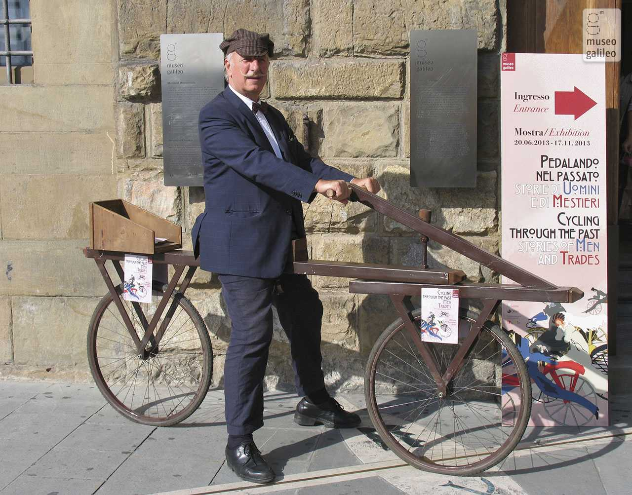 """Tutti in bicicletta"", a competition organized by the Museo Galileo of Florence for the exhibition ""Cycling through the Past"""