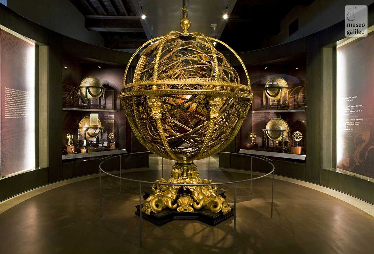 Museo Galileo, Exhibition Hall dedicated to The Representation of the World