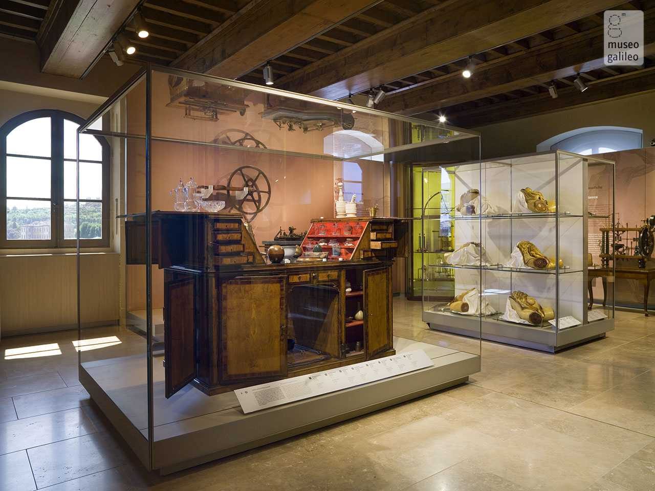 Museo Galileo, Exhibition Hall dedicated to The Lorraine Collections