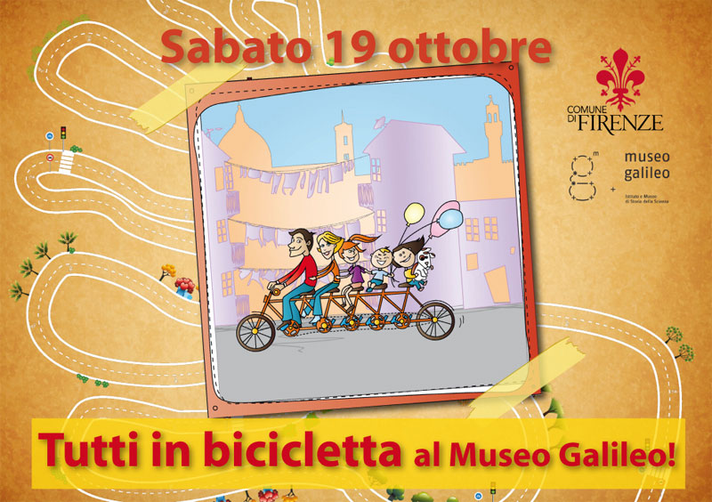 Let's ride to the Museo Galileo!