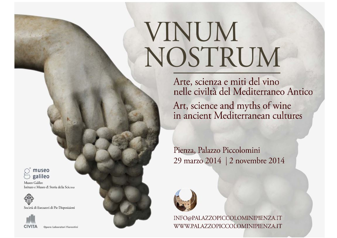 Vinum Nostrum: Art, Science and Myths of Wine in Ancient Mediterranean Cultures