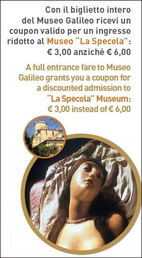 Promotional initiative Museo Galileo - La Specola