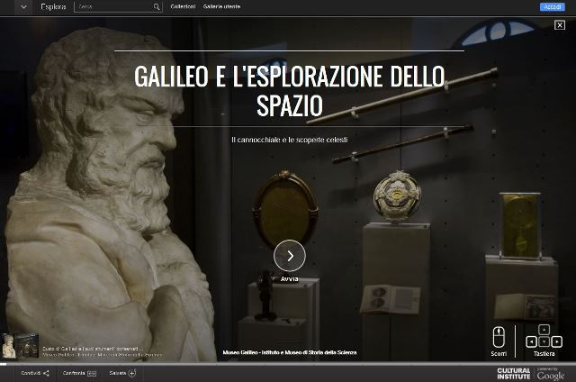 A new digital exhibition by Museo Galileo on the Google Cultural Institute