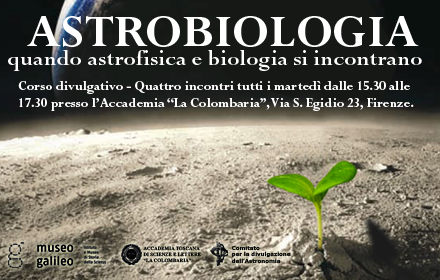 A Course in Astrobiology at Museo Galileo