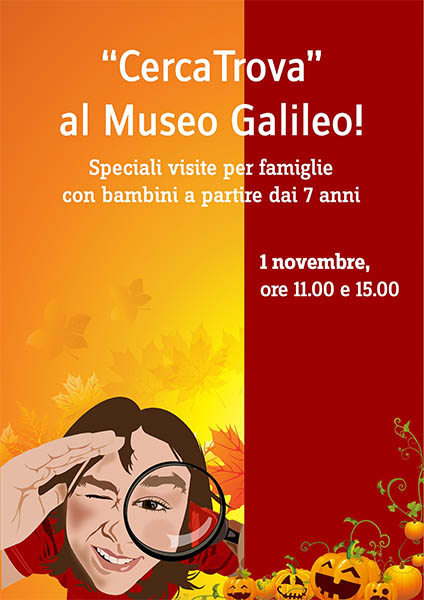 'Look and Find' at the Museo Galileo on November 1, 2017